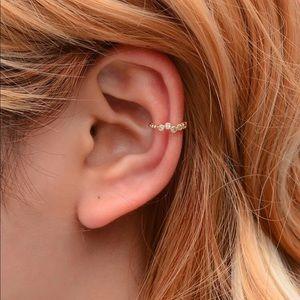 Delicate Gold Earring Cuff